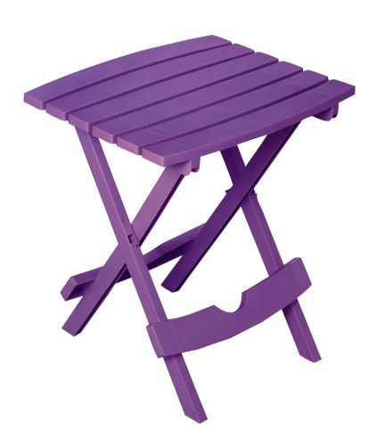 Quik-Fold Side Tables - Bright Violet