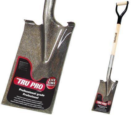 """Tru-Pro Garden Spade With Wood """"D""""- Handle"""