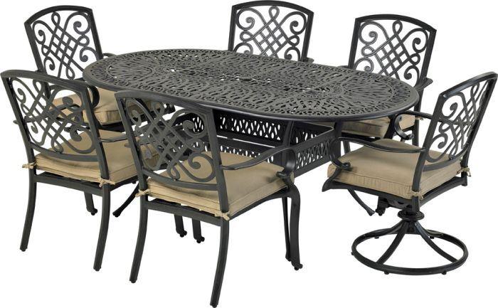 Patio Resort ODTMN7242-BT1 Bridgetown 7-Piece Dining Set