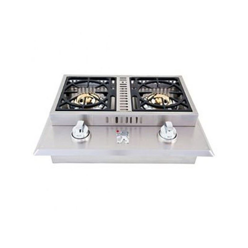 Lion Premium Grills L1634 Double Burner Removable Cover Natural Gas