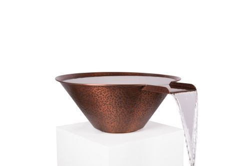 """NG 30"""" Copper Round Water Bowl"""