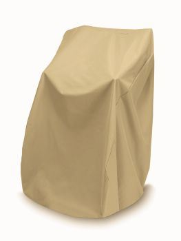 "Two Dogs 48"" High Stack Chair Cover - Khaki"