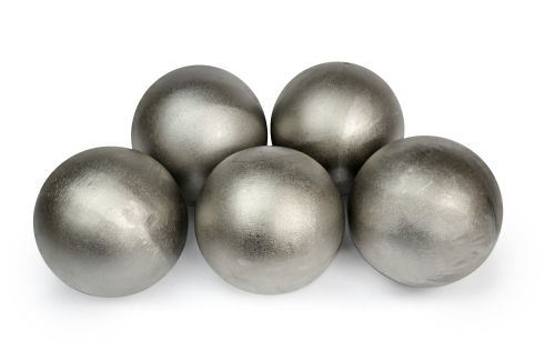 """4"""" Steel Fire Ball with Ceramic Coating"""