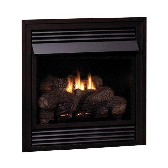 Vail Vent-Free Premium 36,000 BTU LP Fireplace w/LS30EF Log Set