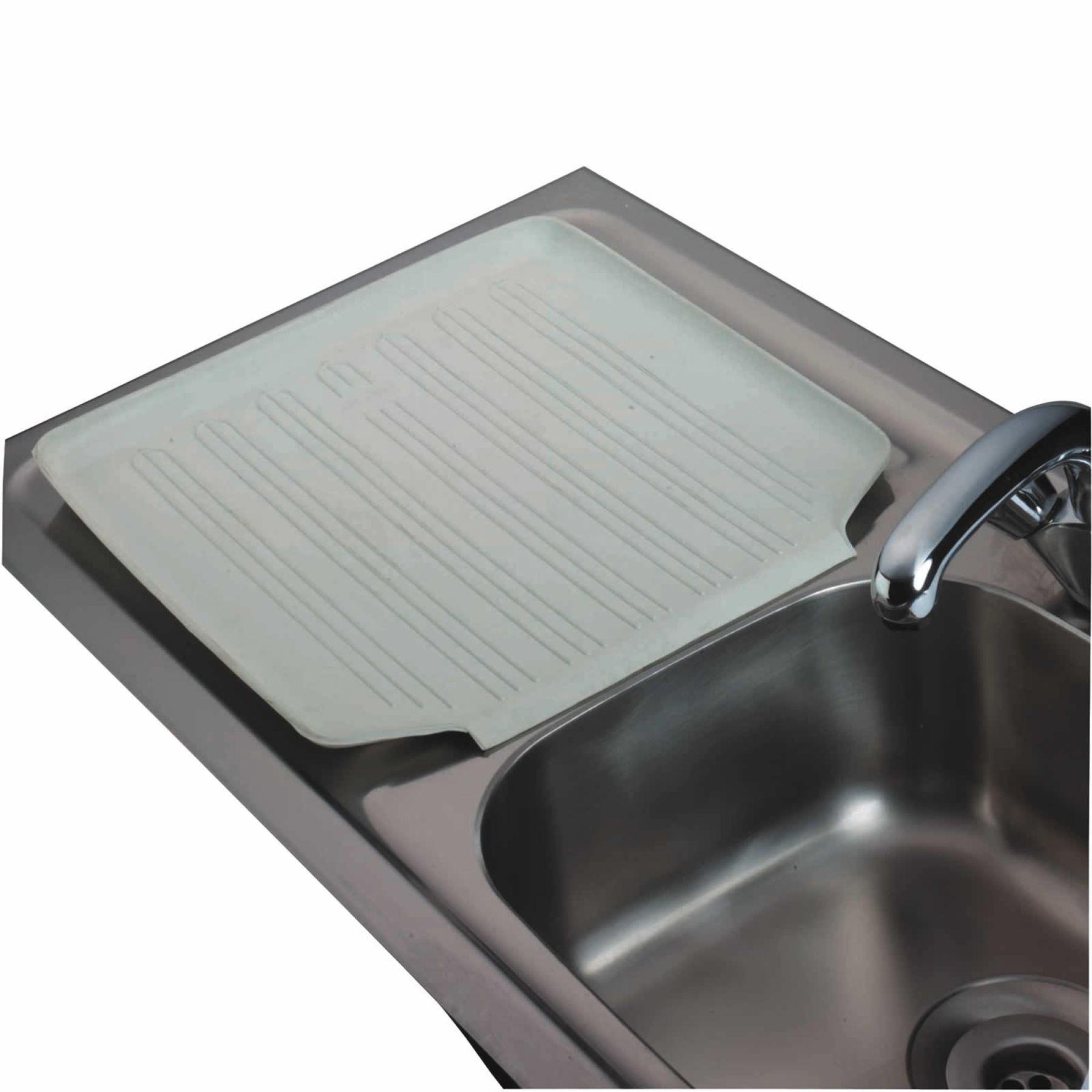 Kitchen Craft Rubber Sink Dish Drainer Draining Board Mat