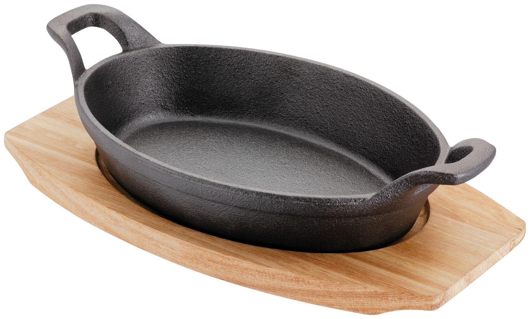 Judge Sizzle Amp Serve Cast Iron Gratin Griddle Dish With