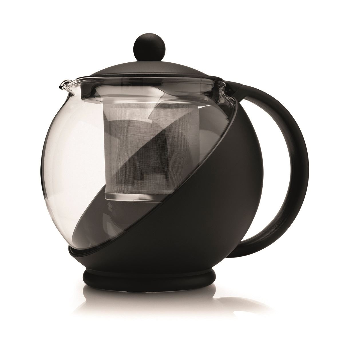 Kilo glass teapot tea pot with infuser 2 cup or 4 cup ebay - Tea pots with infuser ...