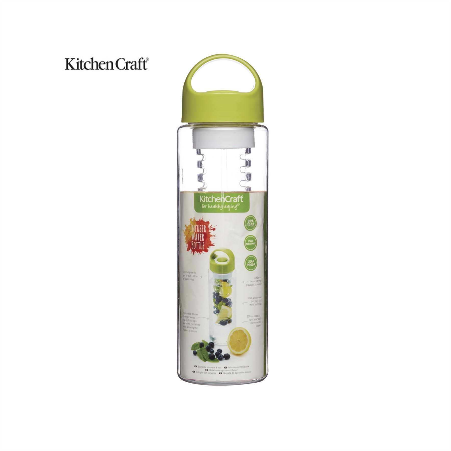 Kitchen Craft Kitchencraft Flavour Infuser Water Bottle Kcheinfuse Ebay