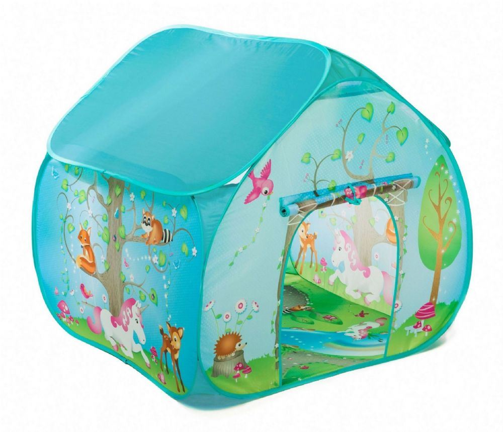 pop it up boys girls playtents play tent dinosaur farm. Black Bedroom Furniture Sets. Home Design Ideas