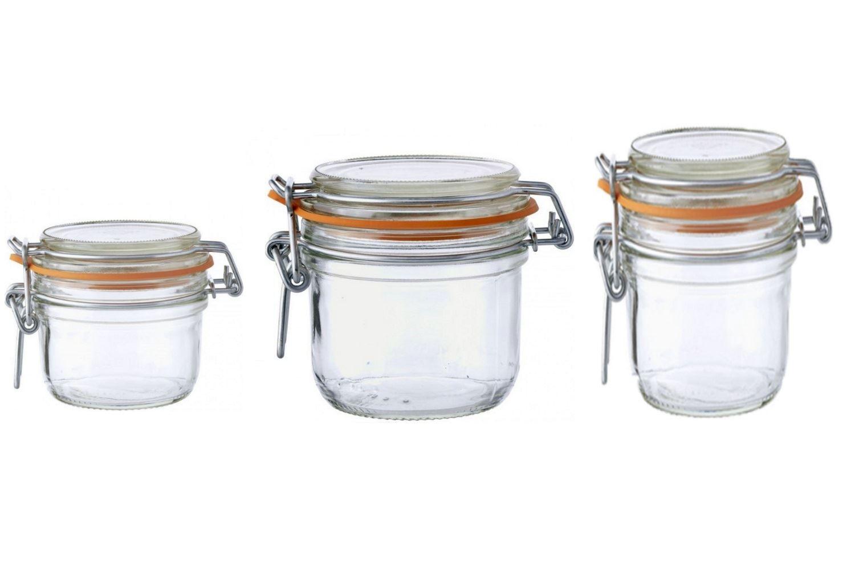 le parfait super terrine preserving jars 125 200 250. Black Bedroom Furniture Sets. Home Design Ideas