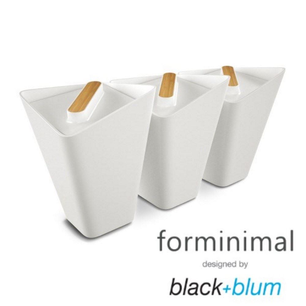 Retro Kitchen Storage Jars Black Blum Forminimal Storage Jar Canister Set Of 3 In White Or Grey