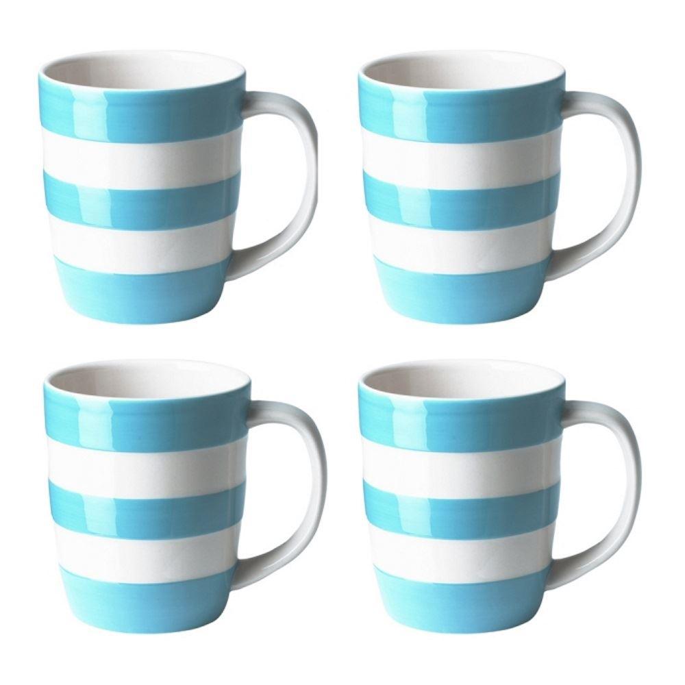 Cornishware Blue Amp White Stripe Set Of 2 Or 4 Coffee Cups