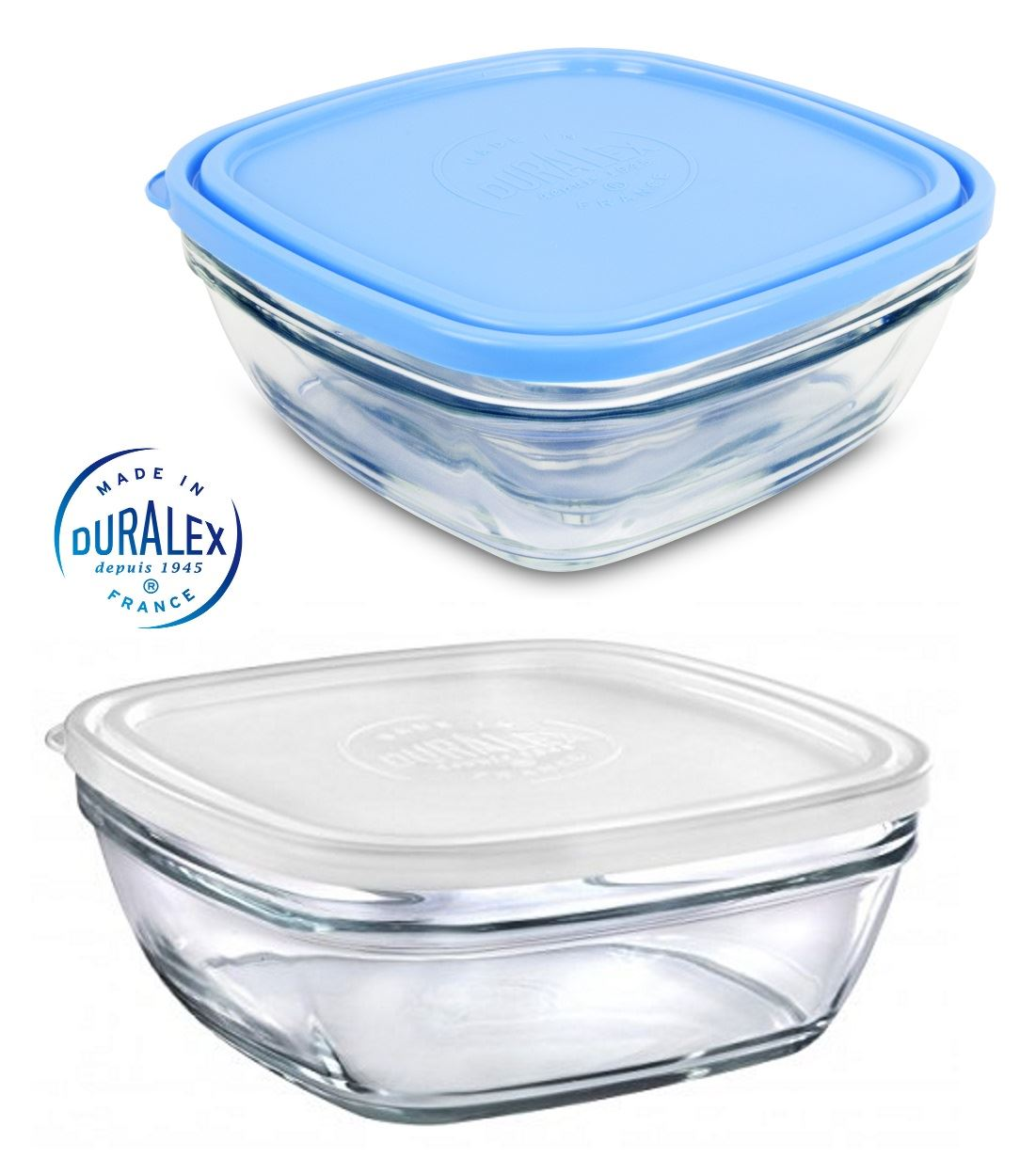 duralex french toughened glass food storage containers. Black Bedroom Furniture Sets. Home Design Ideas