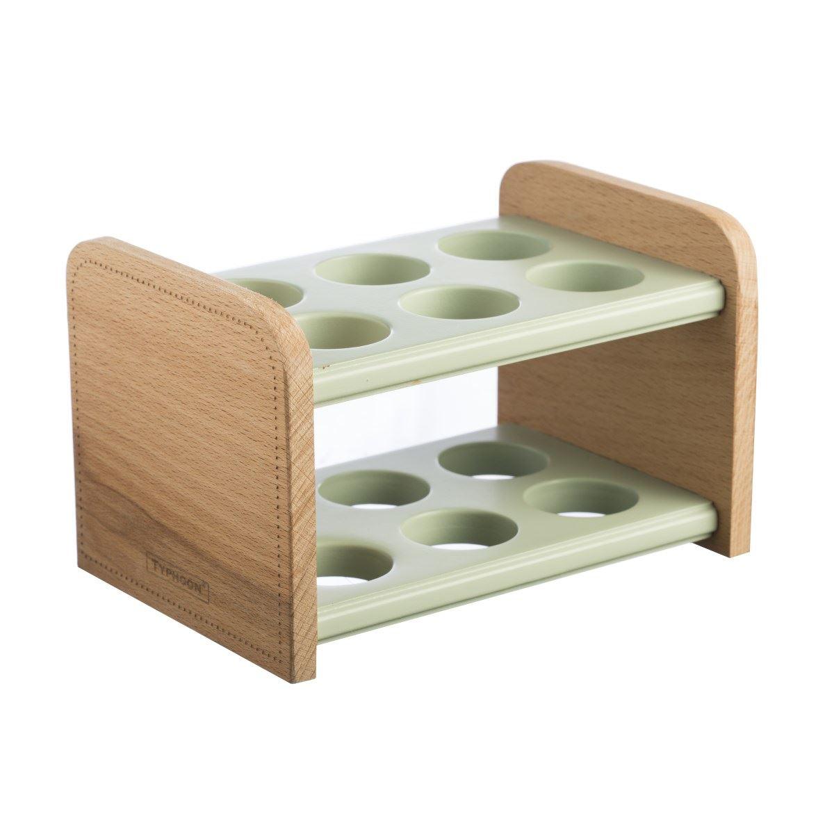Typhoon Americana Wooden Storage Wine Rack, Egg Stand, Spice Rack or Spoon Rest | eBay