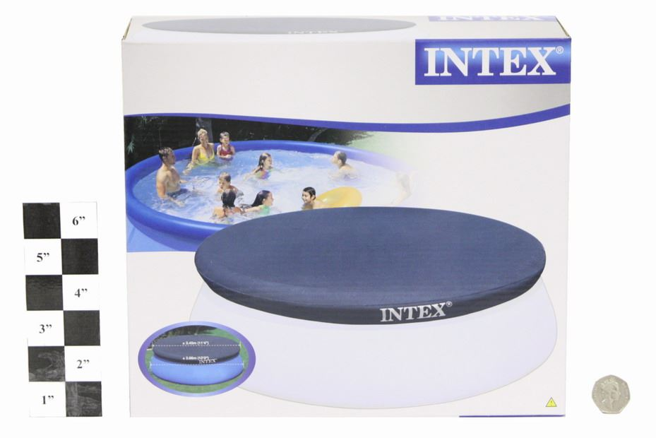 Intex easy set garden swimming paddling pool cover in for Garden swimming pool ebay