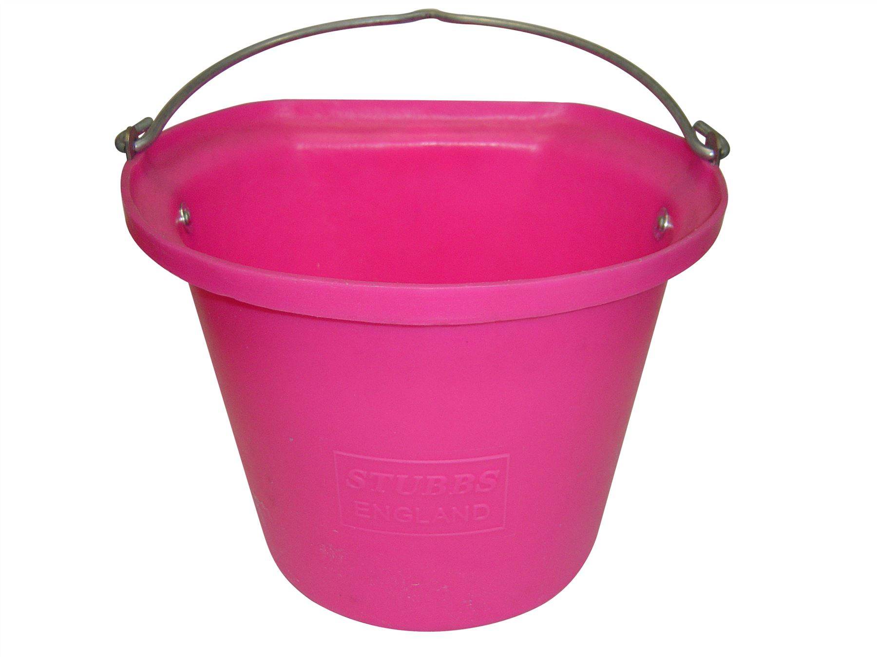 Stubbs hanging bucket flat sided small s85 equine horse for Small pail buckets