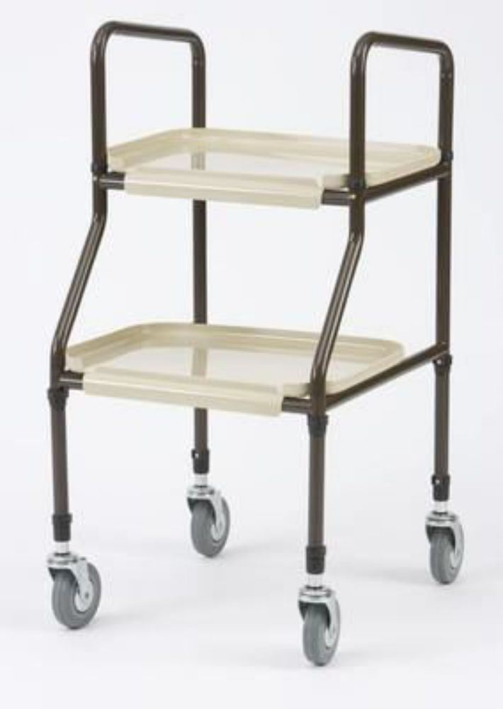 NEW Adjustable Height Mobility Kitchen Trolley Walker