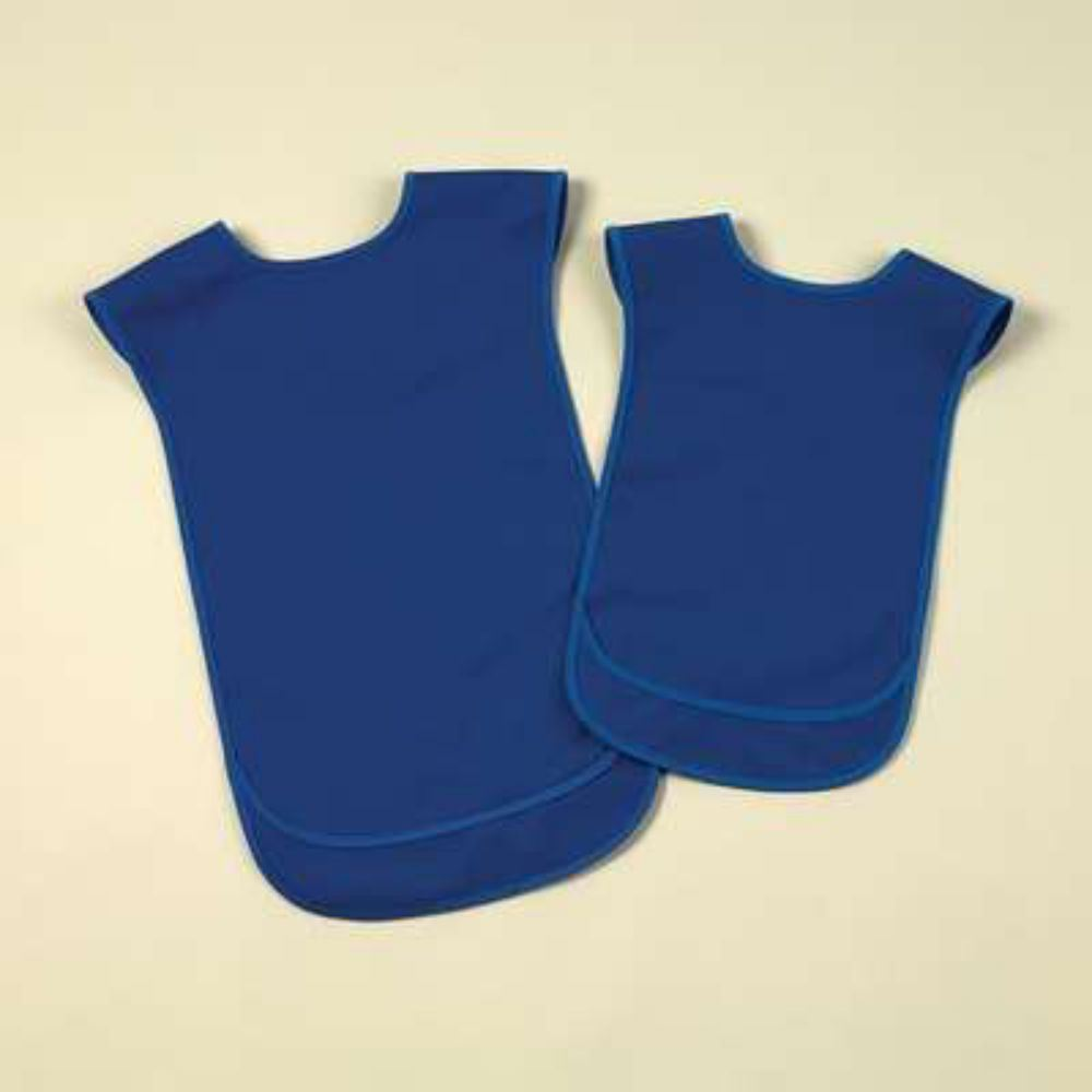 Tabard Style Over The Shoulder Waterproof Adult Bibs