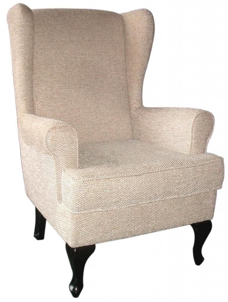 New paris orthopaedic arm chair winged high back chair for Armchair with high back