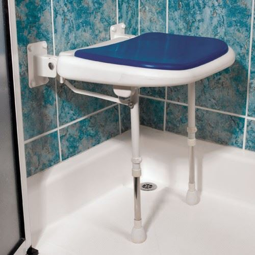 Advanced Shower Seat Bathroom Stool With Extra Large
