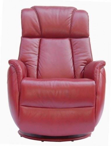 Sorrento Leather Electric Recliner Chair Swivel Recliner ...
