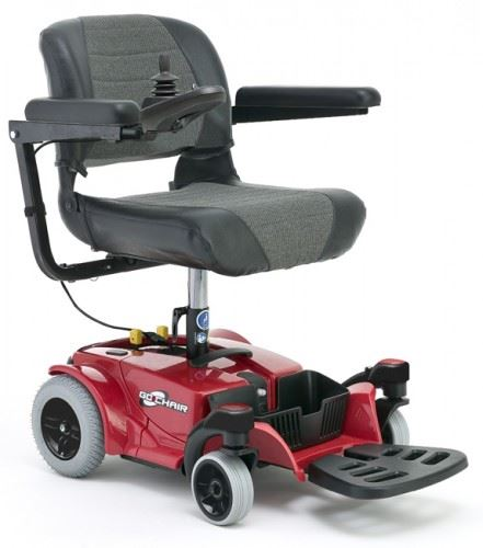 Pride Go Go Electric Wheelchair Portable Powerchair Travel