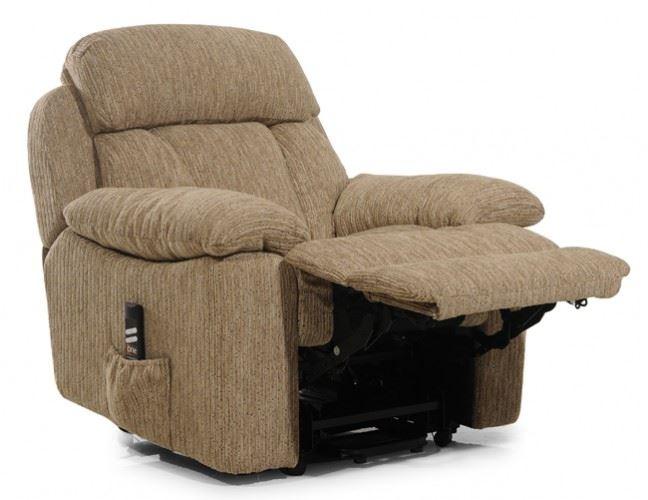 New Carolyn Dual Motor Fabric Rise Amp Recline Armchair