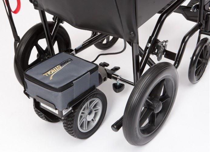 Drive Medical Lightweight Powerstroll Electric Wheelchair Powerpack 3mph