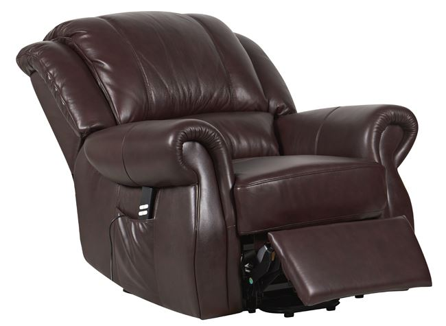 Cosmopolitan Dual Motor Leather Riser Recliner Chair Rise ...