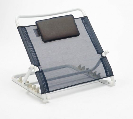 Adjustable Backrest Bed Support : Adjustable multi position back rest bed support