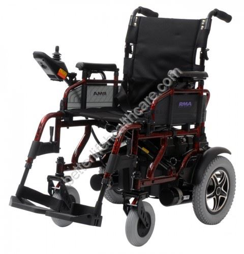 Shoprider sirocco electric wheelchair powerchair mobility for Fold up scooters motorized
