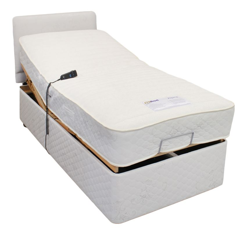 "NEW 2ft 6"" or 3ft Single Electric Adjustable Bed & Pocket"