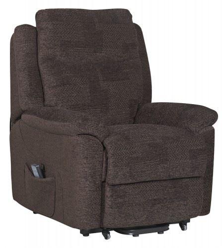 Evesham Fabric Electric Dual Motor Riser Recliner Chair