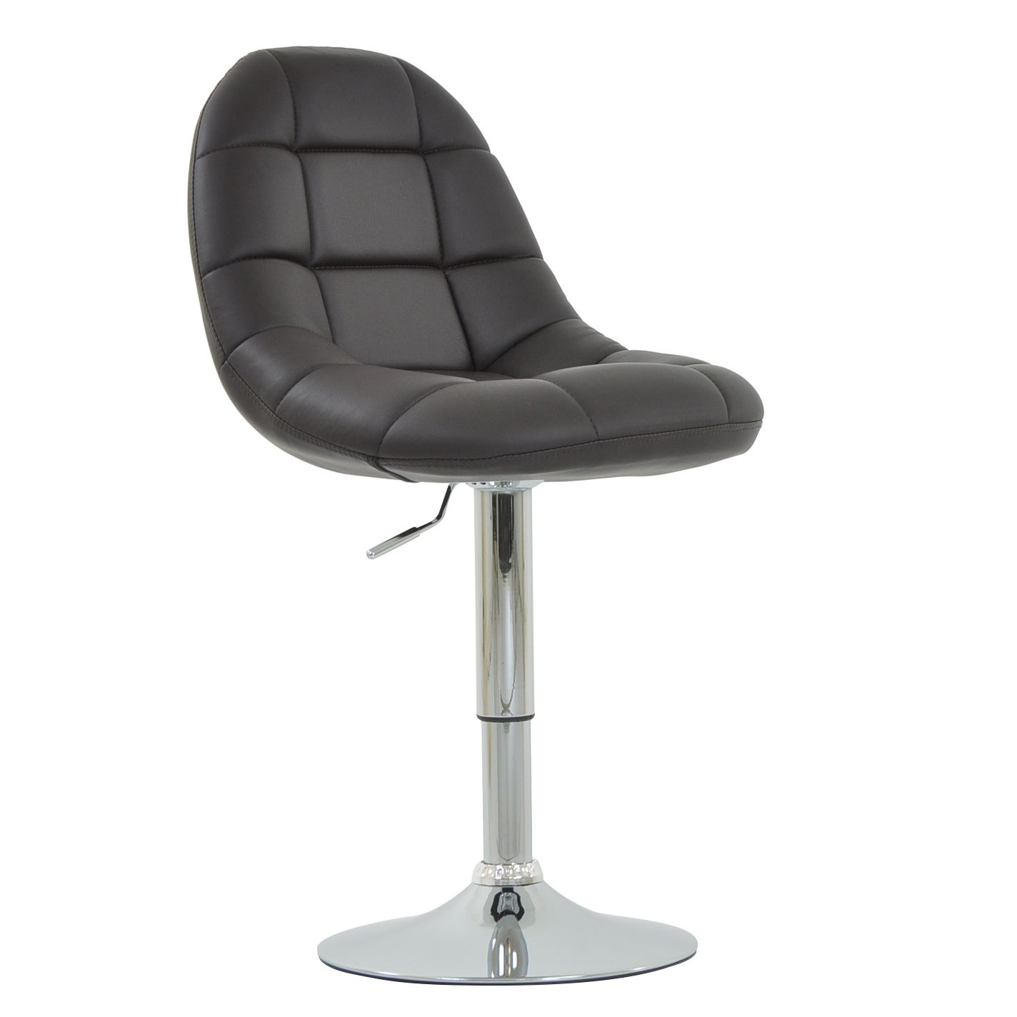 Montrose Faux Leather Padded Swivel Office Dining Chair Ebay