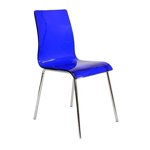 Ava Gel Acrylic Acrylic Dining Chair EBay