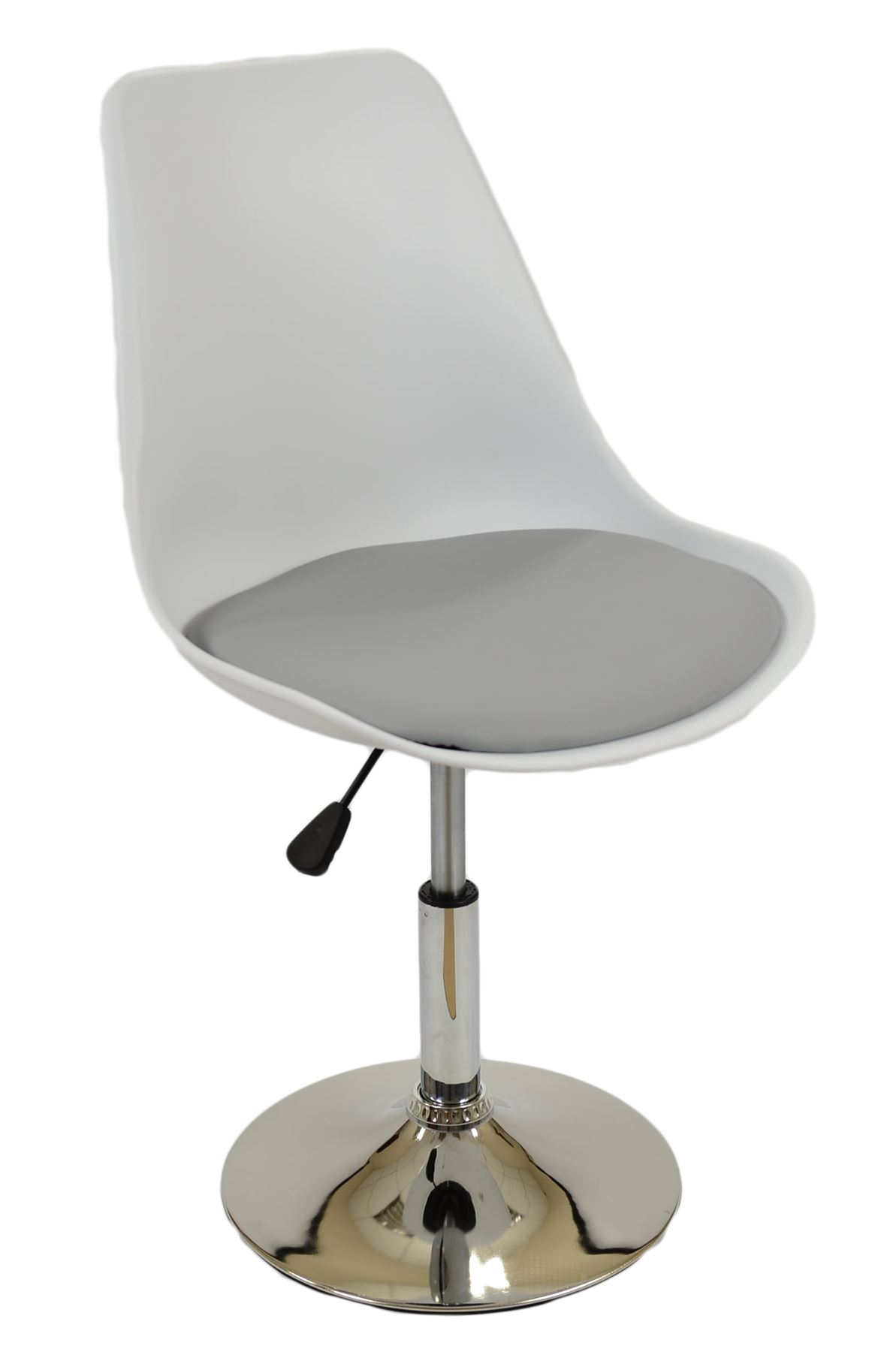 Tulip Plastic Swivel Gas lift fice or Dining Chairs