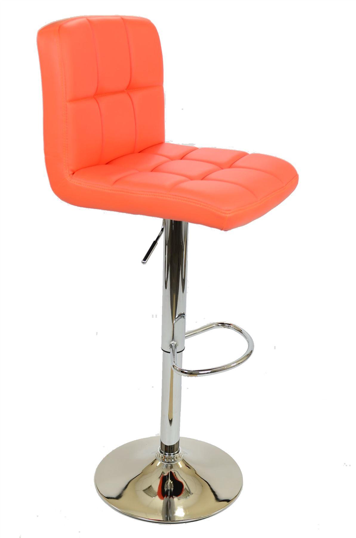 cuban faux leather swivel gas lift barstool bar stools ebay. Black Bedroom Furniture Sets. Home Design Ideas