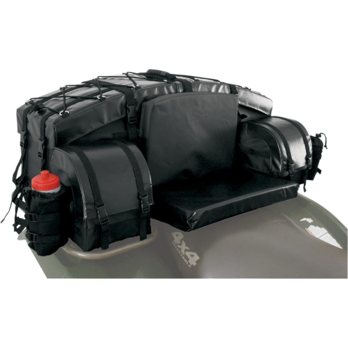 bike atv tek rear cargo bag black ebay