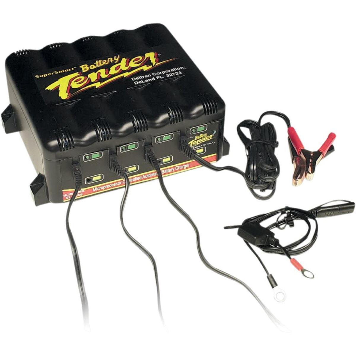 Battery Tender 4 Bank Trickle Charger System 1 25a Ebay