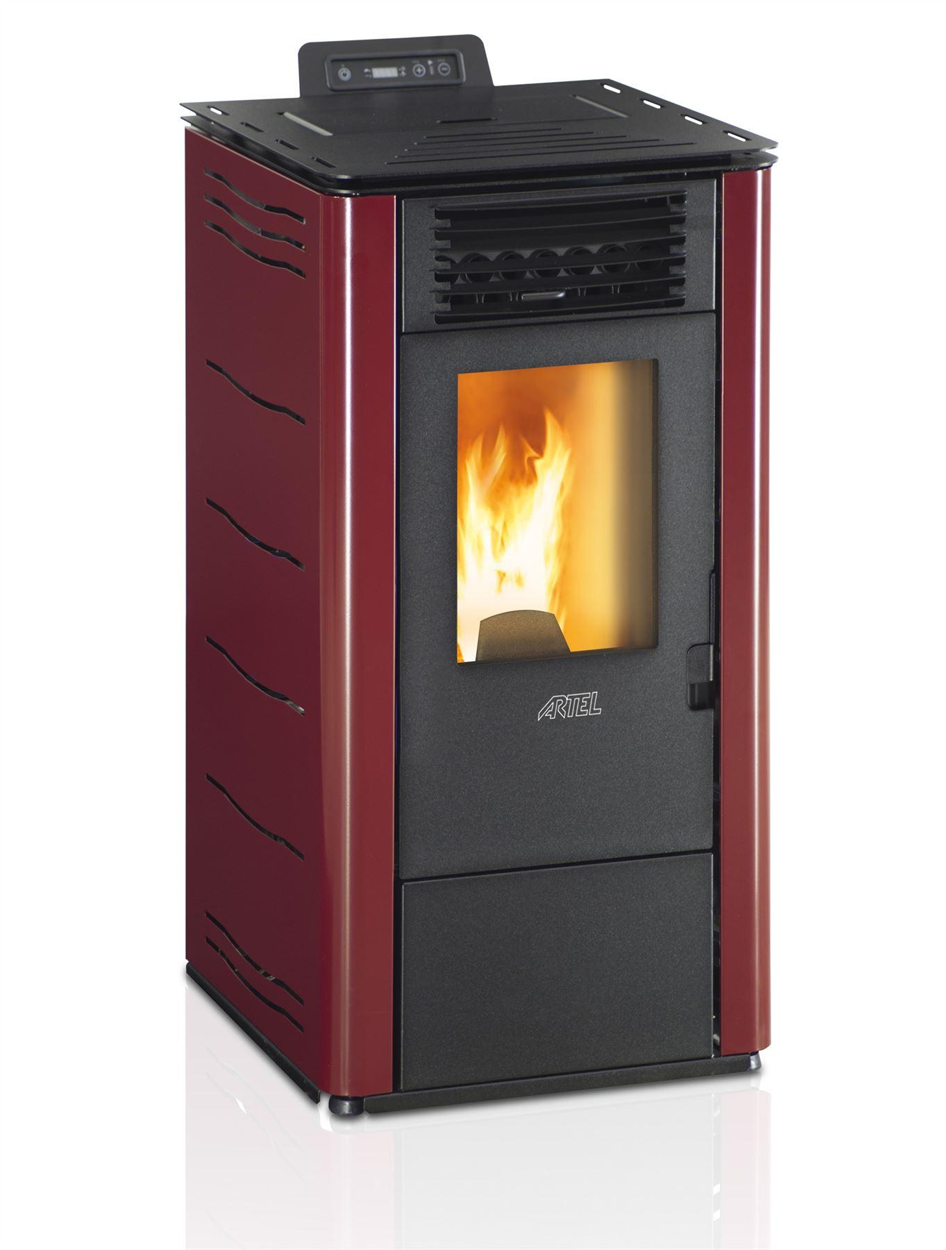 Potente calentador caldera calefaccion pellets eco - Caldera calefaccion pellets ...