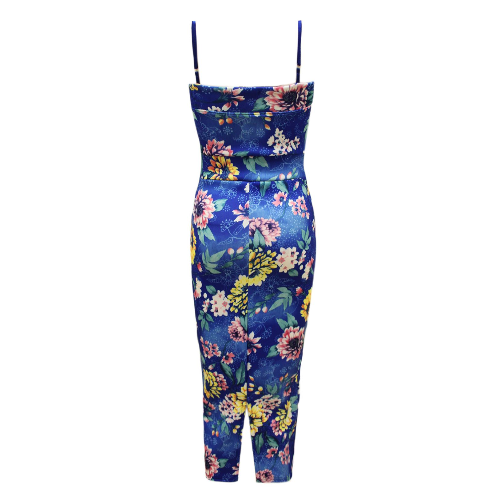 LADIES-WOMENS-CELEB-STYLE-STRAPPY-TROPICAL-FLORAL-PRINT-PARTY-BODYCON-MIDI-DRESS