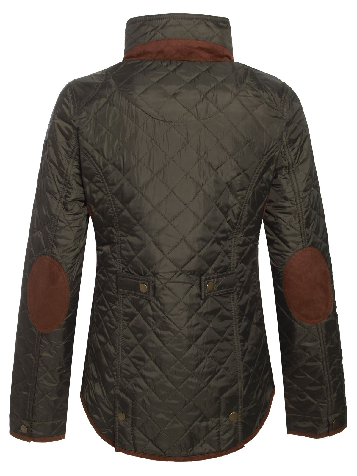 Women's quilted riding jacket