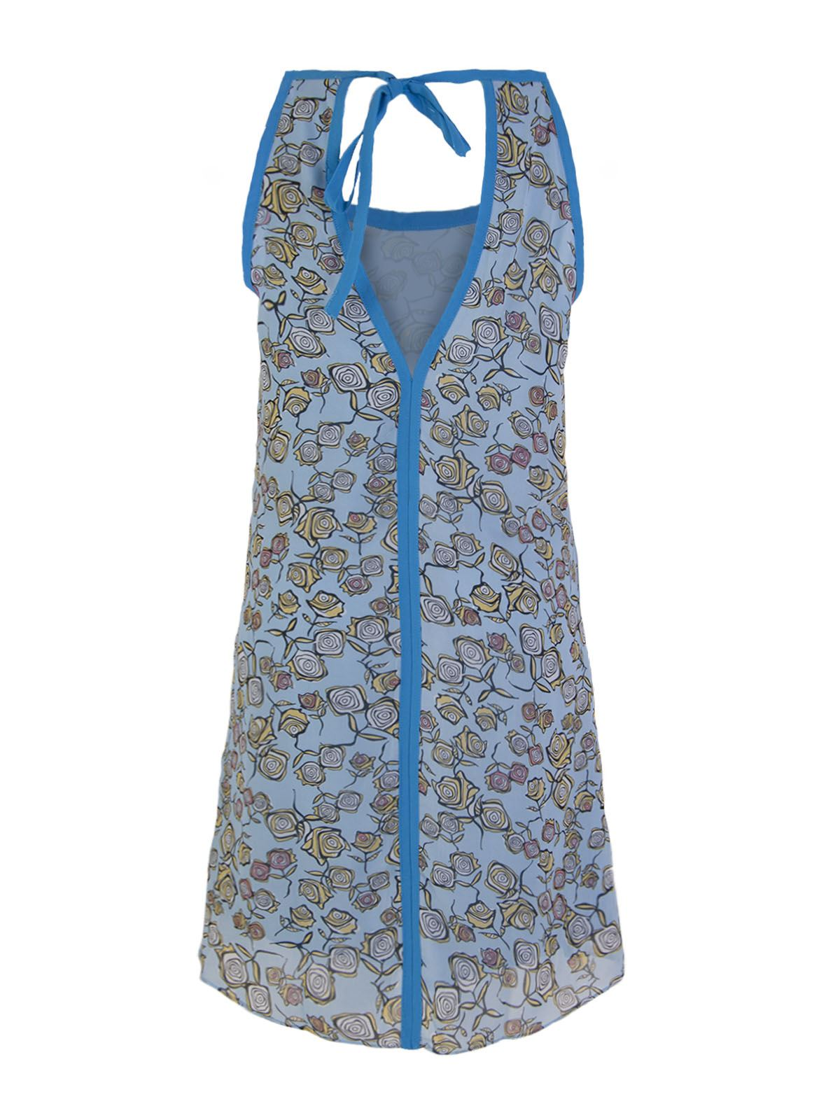 WOMENS-NEW-LADIES-CHIFFON-BEACH-PARTY-SUMMER-DRESS-LEOPARD-FLORAL-VEST-TOP-8-14