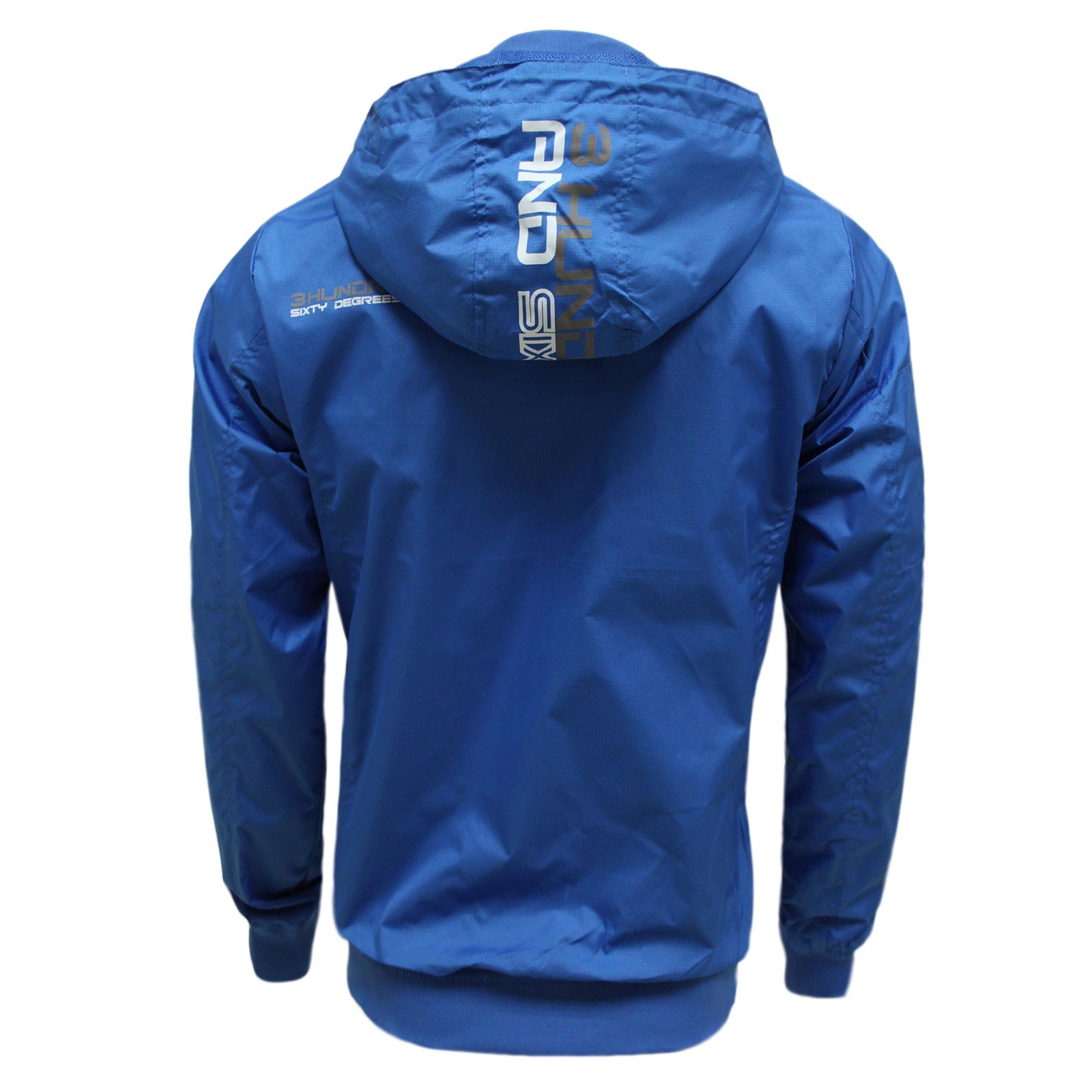 MENS LIGHTWEIGHT WINDBREAKER WATER PROOF SUMMER JACKET HOODED ...