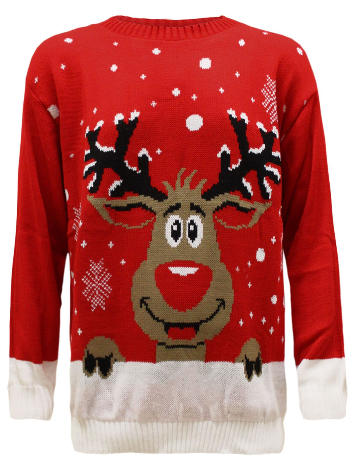 Plus Size Christmas Jumpers Ladies' 24, 26, 28, 30, 32 Men's XXXXL, XXXXXL, 4XL, 5XL, 6XL. We do Christmas jumpers in plus sizes as high as you need. We're the only Christmas jumper company to offer these sizes and it's because our jumpers are handmade.