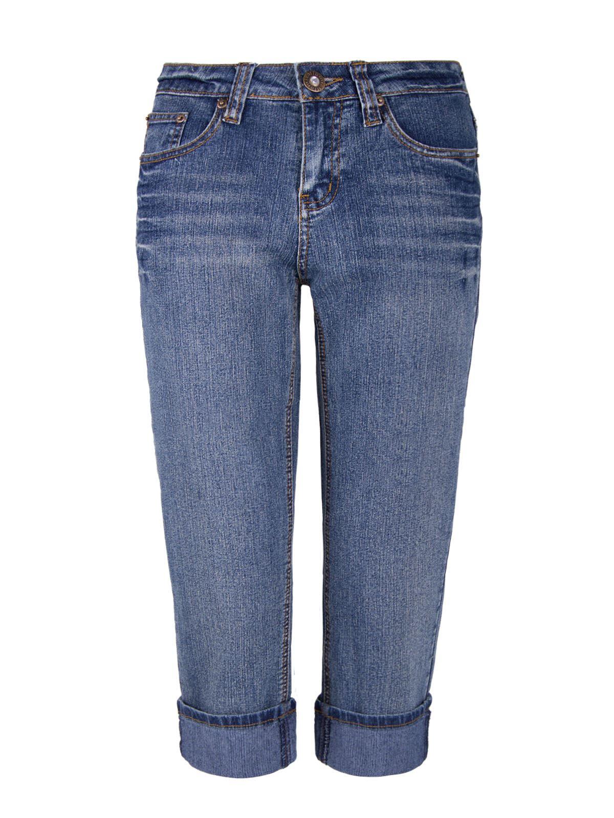 damen hose stretch jeans niedriger bund acidwashed 3 4. Black Bedroom Furniture Sets. Home Design Ideas