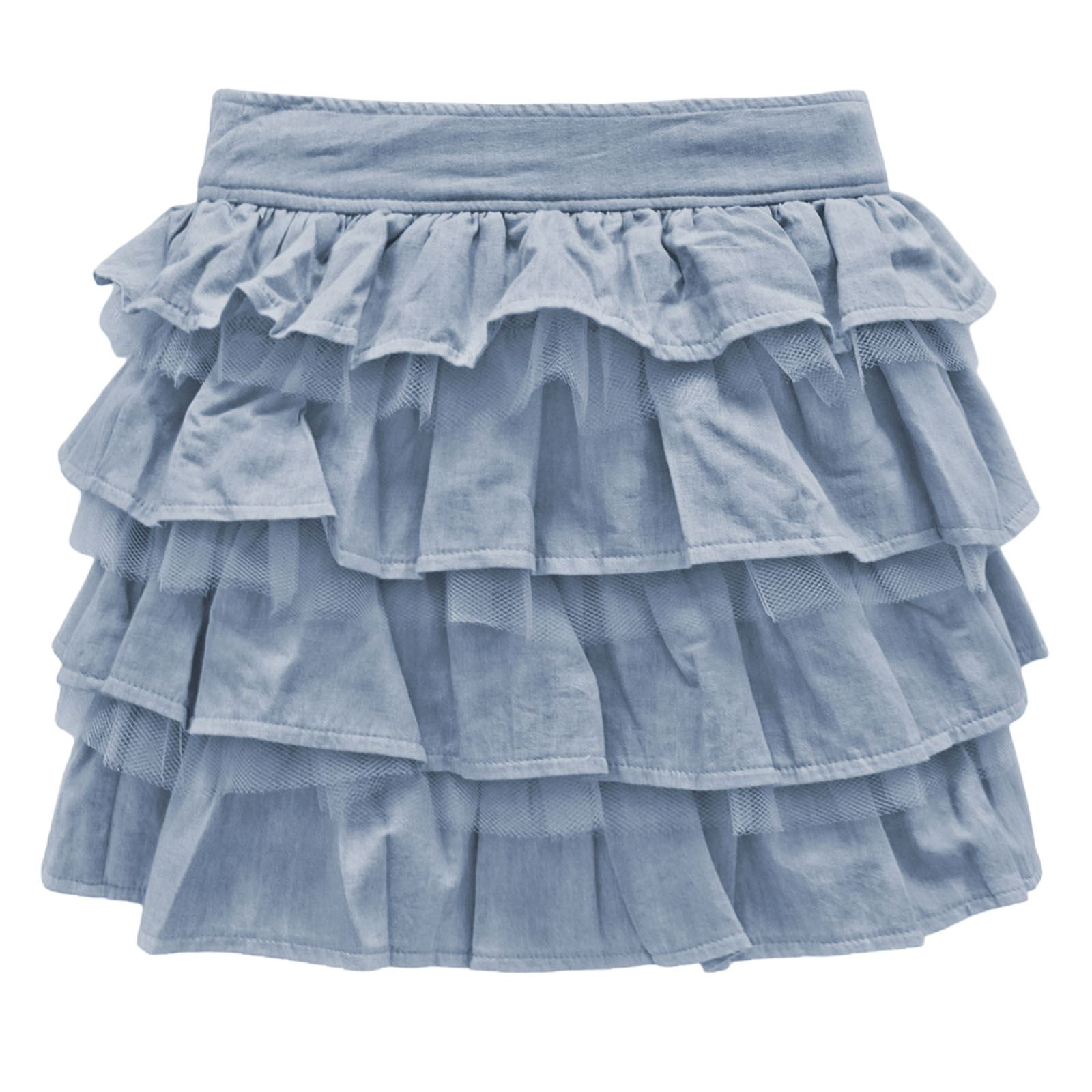 new ruffle denim skirts womens summer