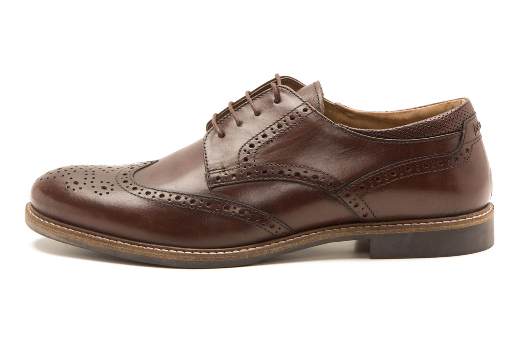 High Quality Mens Brown Derby Shoes