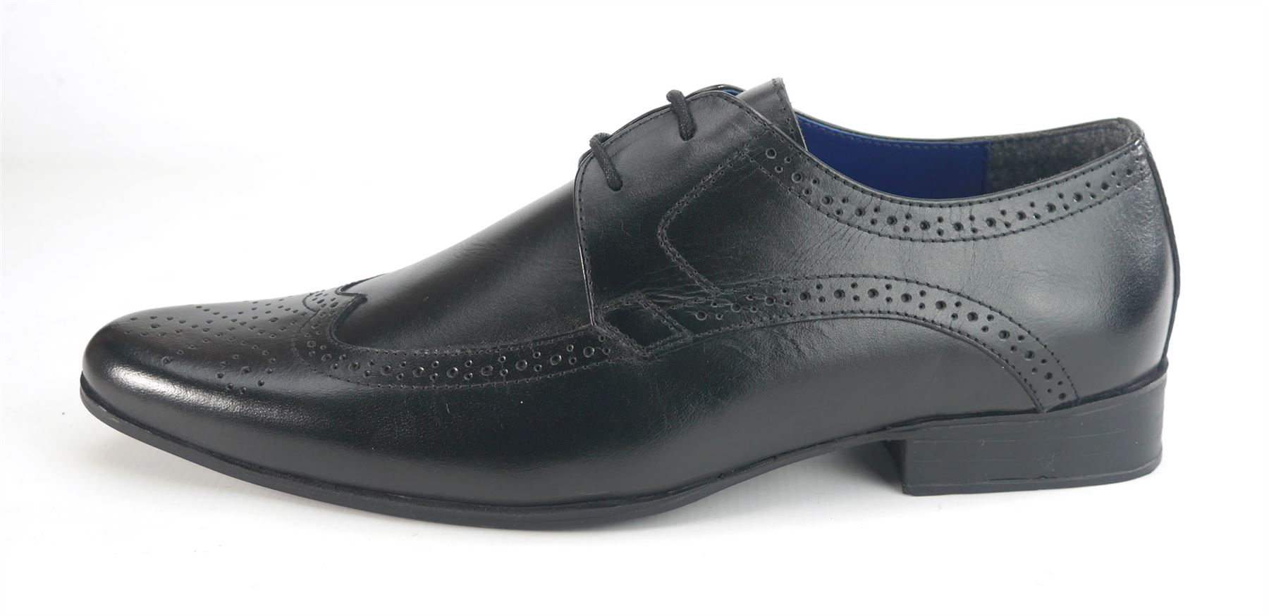 Frank Harlow James Brogue Tan Wide Leather Brown Pointed Black Fit eroEdCWQxB