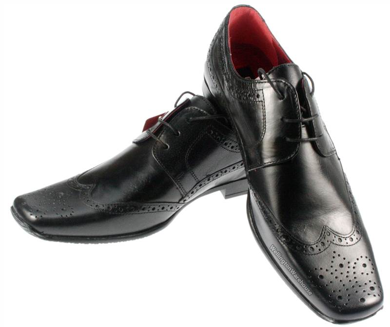 Square Cap Toe Dress Shoes